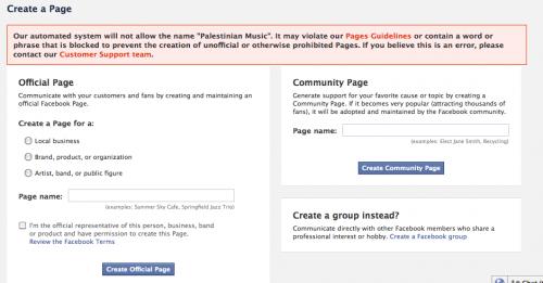 "Facebook: ""No Palestinian Pages"" – Jillian C  York"