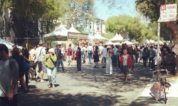 The SFSFF, right outside my front door